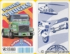 (S) Quartett Kartenspiel *FX Schmid 1994* POWER TRUCKS