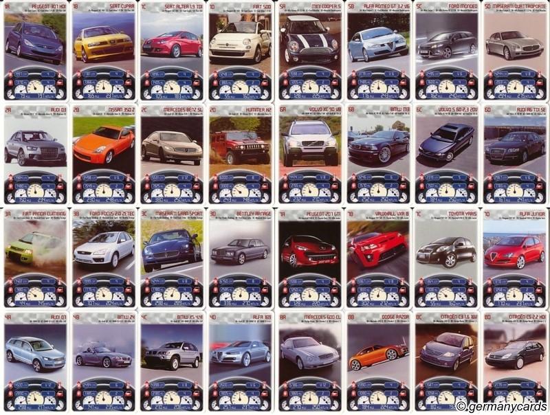 Top trumps piatnik 2008 cars germanycards