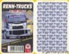 (S) Quartett Kartenspiel *ASS 2001* RENN-TRUCKS