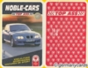 (S) Quartett Kartenspiel *ASS 1999* NOBLE-CARS
