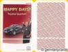 (S) Quartett Kartenspiel *Toyota* HAPPY DAYS!
