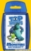 (G) Quartett Kartenspiel *Winning Moves 2013* MONSTERS UNIVERSITY