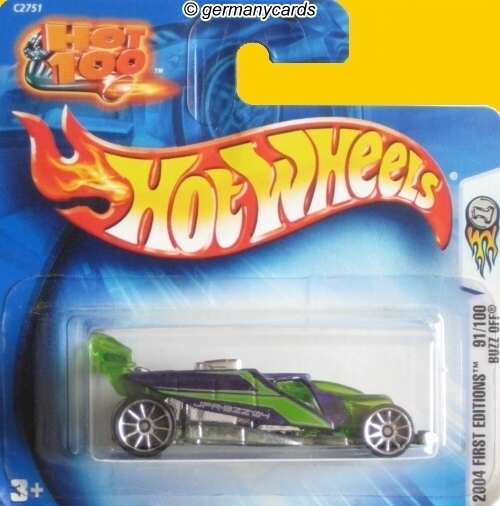 hot wheels 2004* buzz off - germanycards