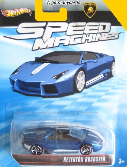 Hot Wheels 2013 Speed Machines Reventon Roadster Germanycards