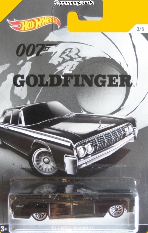 hot wheels 007 james bond goldfinger 39 64 lincoln continental germanycards. Black Bedroom Furniture Sets. Home Design Ideas