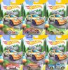 Hot Wheels * HAPPY EASTER Set of 6 cars