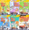 Hot Wheels * TOM AND JERRY Set of 6 cars