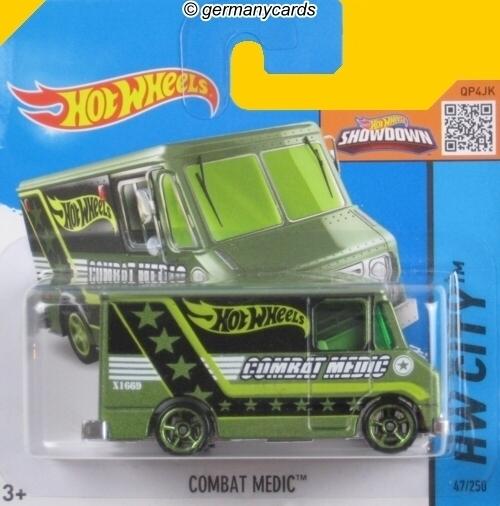 Hot Wheels Combat Medic HW City Green
