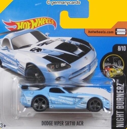 Hot Wheels 2017 Dodge Viper Srt10 Acr Germanycards