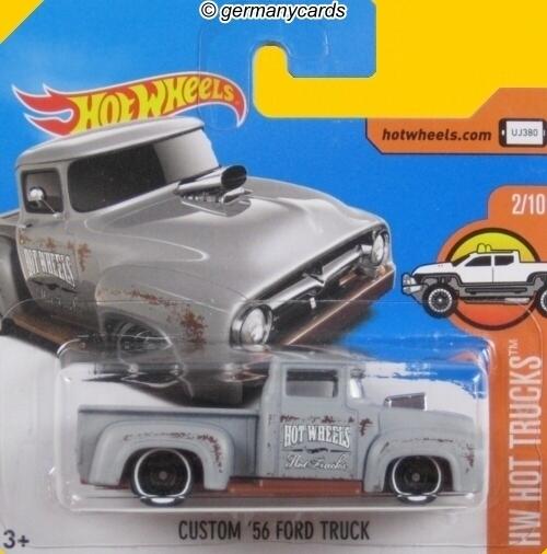 Hot Wheels 2017 Custom 56 Ford Truck Germanycards