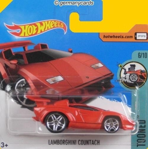Hot Wheels 2017 Lamborghini Countach Germanycards