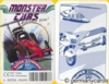 (M) Top Trumps *FX Schmid 1998* MONSTER CARS