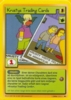 The Simpsons * 1.Edition 022 * Krustys Trading Cards