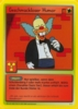 The Simpsons * Promokarte 11 * Geschmackloser Humor