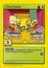 The Simpsons * Promokarte 12 * Clownfamilie