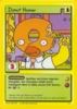 The Simpsons * Promokarte 13 * Donut Homer