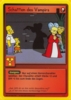 The Simpsons * Promokarte 17 * Schatten des Vampirs