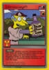The Simpsons * Promokarte 23 * Gehirnnervengift