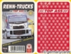 Quartett Kartenspiel *ASS 2001* RENN-TRUCKS