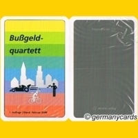 Wendel Verlag s quartett kartenspiel wendel verlag 2009 bußgeldquartett