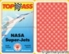 (S) Quartett Kartenspiel *ASS 1988* NASA Super-Jets