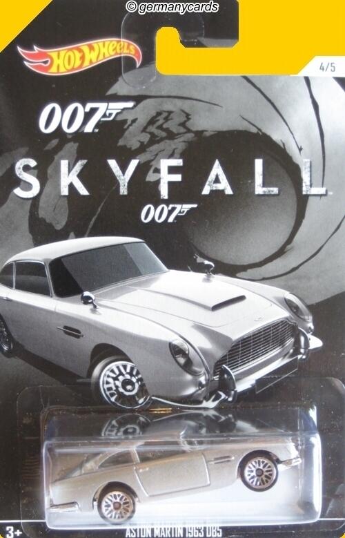 Hot Wheels 007 James Bond Skyfall Aston Martin 1963 Dbs Germanycards