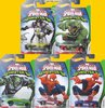 Hot Wheels 2016* ULTIMATE SPIDERMAN VS SINISTER 6 Set von 5 Autos